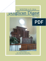 The Anglican Digest – Winter 2016