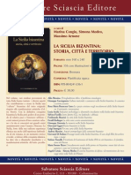 La Sicilia Bizantina. Storia, città e territorio