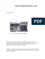 Curso de Reparo Em Impressora Epson Lx 300