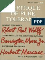 Robert Paul Wolff, Barrington Moore Jr., Herbert Marcuse-A Critique of Pure Tolerance.pdf