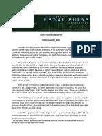 Legal Pulse 3Q 2016