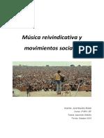 Musica reivindicativa y movimientos sociales