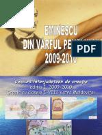 Eminescu Din Varful Penelului 2009 - 2010