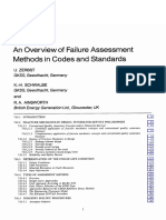 An Overview of Failure Methods in Codes and Assessment Standards