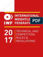 IWF Rule Book 2017