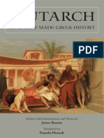 Plutarch.; Romm, James S.; Mensch, Pamela Plutarch Lives That Made Greek History