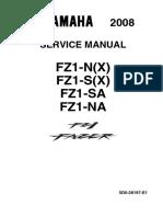 FZ1 2008 Service Manual