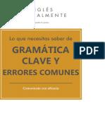 La Gramática Clave y Errores Comunes