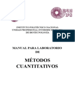 Manual de Metodos Cuantitativos 1a Version