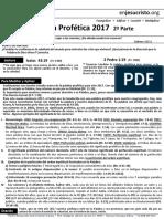 HCV- Palabra Profetica 2017 2a Parte 08 Ene 2017-2