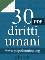 30 Diritti Umani Popolo Unico