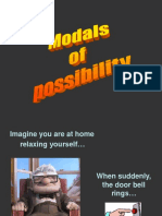 modals of possibility