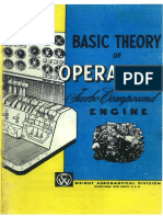 Wright Aeronautical Division Basic Theory of Operation Turbo Compound Engines