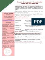 Curriculum Natalia Juarez