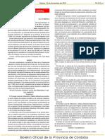 BOP 215 - Aprobación Estatutos Consejo Local de Urbanismo y Medio Ambiente de Lucena