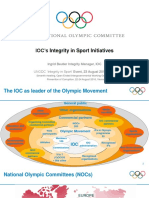 IOC - Ms. Ingrid Beutler