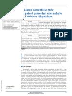 Évolution Démentielle Chez Un Patient Présentant Une Maladie de Parkinson Idiopathique