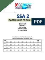 SSA 2/UPE - Caderno de provas 2º dia