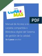 Manual de Acceso - Carpeta Sgc
