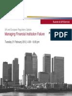 12 UK Pn Banking Managingfinancialfailure