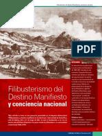 Filibusterismo Del Destino Manifiesto y La Conciencia