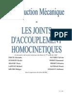 CM 3A Joints Homocinetiques