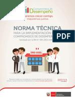 Norma Tecnica - Compromisos de Desempeño 2017