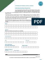 Consumer Disclosure Form