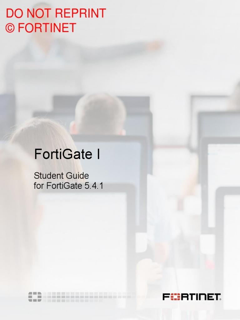 FortiGate I Student Guide-Online V2   Command Line Interface   Email