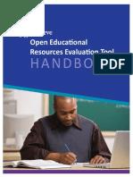 Achieve OER Evaluation Tool Handbook