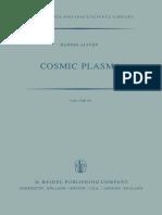 Cosmic Plasma by Hannes Alfven