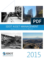 City of Seattle - SDOT 2015 Asset Management Report