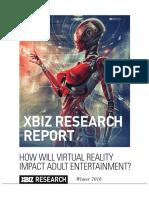 Report Adul Industry Winter 2016 - XBIZ