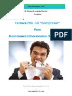 Técnica PNL Del Compresor Para Reacciones Emocionales Dolorosas - AprenderPNL