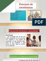 Proceso de Aprendizaje Grupo II - Didactica General