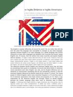 Diferenças entre Inglês Britânico e Inglês Americano.doc