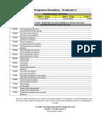 Cronograma Produção II - Cópia