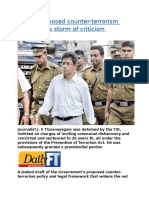 Govt s proposed counter-terrorism policy faces storm of criticism.docx