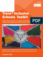 East Sussex Schools Transgender Toolkit
