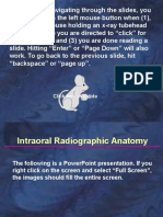 Self Study Intraoral Anatomy radiology