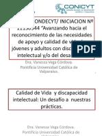 Vega v. - Avanzando Calidad de Vida y Discapacidad Intelectual 01