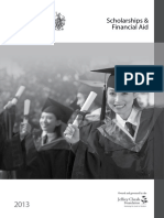 Scholarship 2013 UNI
