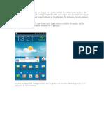 configuracion manual de aplicacion