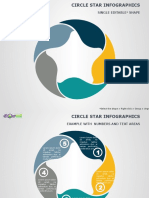 Circle Star Infographics PowerPoint