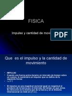 Fisica Impulso y Cantidad de Movimiento Powerpoint.