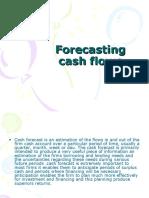 Forecasting Cash Flows