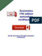 Samuelson Nordhaus PDF