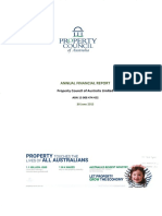 Annual Report Property Council of Australia Ltd F2