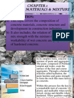 Chapter_1 - Concrete_materials &Mixture