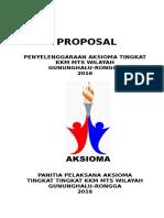 Proposal Aksioma KKM MTs Gununghalu-Rongga 2017